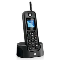 Motorola - O201 Telfono DECT Negro Identificador de llamadas
