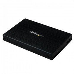 StarTechcom - Caja Carcasa de Aluminio USB 30 de Disco Duro HDD SATA 3 III 6Gbps de 25 Pulgadas Externo con UASP