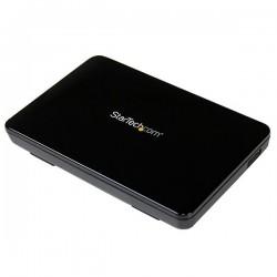 StarTechcom - Caja Carcasa USB 30 de Disco Duro HDD SATA 3 III de 25 Pulgadas Externo con UASP