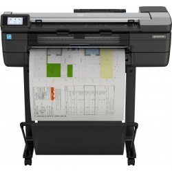 HP - Designjet T830 24 impresora de gran formato Wifi Inyeccin de tinta Color 2400 x 1200 DPI Ethernet