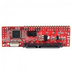 StarTechcom - Conversor Adaptador IDE PATA de 40 pines a SATA - Convertidor para Disco Duro SSD o Unidad ptica