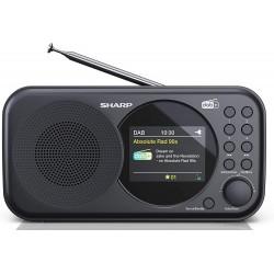 Sharp - SHARP DR-P320BK RADIO DIGITAL PORTTIL