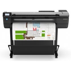 HP - Designjet T830 impresora de gran formato Wifi Inyeccin de tinta trmica Color 2400 x 1200 DPI A0 841 x 1189 mm Ethernet