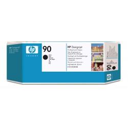 HP - Limpiador de cabezales de impresin y cabezal de impresin DesignJet 90 negro