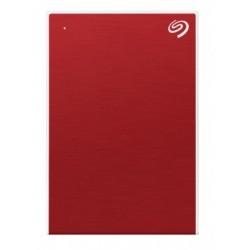 Seagate - One Touch disco duro externo 2000 GB Rojo