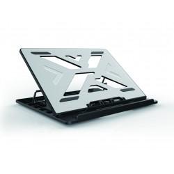 Conceptronic - THANA ERGO S Laptop Cooling Stand 396 cm 156 Soporte para ordenador porttil Gris