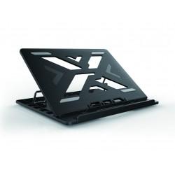 Conceptronic - ERGO Laptop Cooling Stand 396 cm 156 Soporte para ordenador porttil Negro