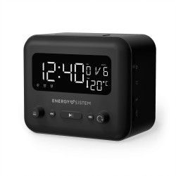 Energy Sistem - Clock Speaker 2 Reloj Analgica Negro