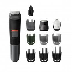 Philips - MULTIGROOM Series 5000 Cara cabello y cuerpo 11 en 1 con 11 herramientas