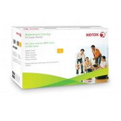 Xerox - Cartucho de tner amarillo Equivalente a HP Q7582A Compatible con HP Colour LaserJet 3800 Colour LaserJet CP3505