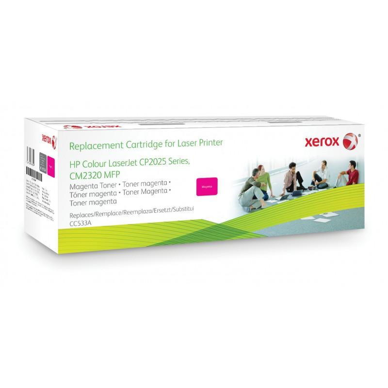 Xerox - Cartucho de tner magenta Equivalente a HP CC533A Compatible con HP Colour LaserJet CM2320 MFP Colour LaserJet CP2020