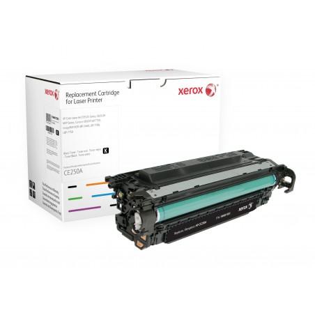 Xerox - Cartucho de tner negro Equivalente a HP CE250A Compatible con HP Colour LaserJet CM2320 MFP Colour LaserJet CP3525