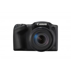 Canon - PowerShot SX430 IS Cmara puente 205 MP CCD 5152 x 3864 Pixeles 1/23 Negro