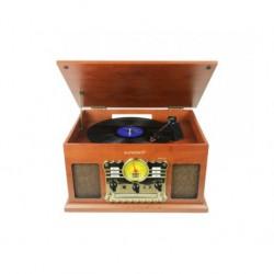 Sunstech - PXRC5CD WD Madera tocadisco