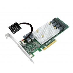 Adaptec - SmartRAID 3154-24i PCI Express x8 30 12Gbit/s controlado RAID