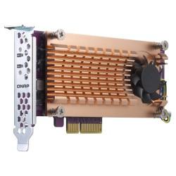 QNAP - QM2 tarjeta y adaptador de interfaz M2 Interno - QM2-2P-384