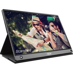 ASUS - MB16AMT 396 cm 156 1920 x 1080 Pixeles Multi-touch Multi-usuario Negro Gris