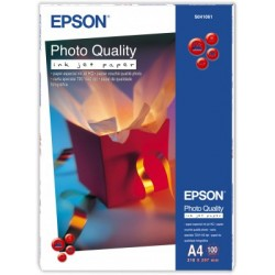 Epson - Photo Quality Inkjet Paper - A4 - 100 hojas