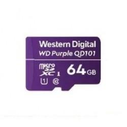 Western Digital - WD Purple SC QD101 memoria flash 64 GB MicroSDXC Clase 10