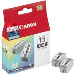 Canon - Cartridge BCI-15 Black 2 piezas Original Negro