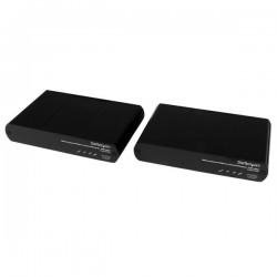 StarTechcom - Extensor de Consola KVM HDMI USB por Cable Cat5e / Cat6 con Vdeo 1080p HD Sin Comprimir - 100m