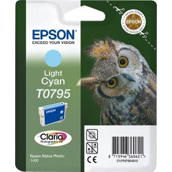 Epson - Owl Cartucho T0795 cian claro