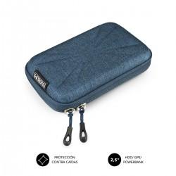 SUBBLIM - Funda Disco Duro HDD Business Case 25 Dark Blue