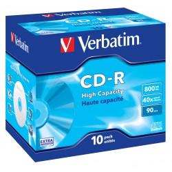 Verbatim - 43428 CD en blanco CD-R 800 MB 10 piezas
