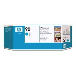 HP - Limpiador de cabezales de impresin y cabezal de impresin DesignJet 90 cian