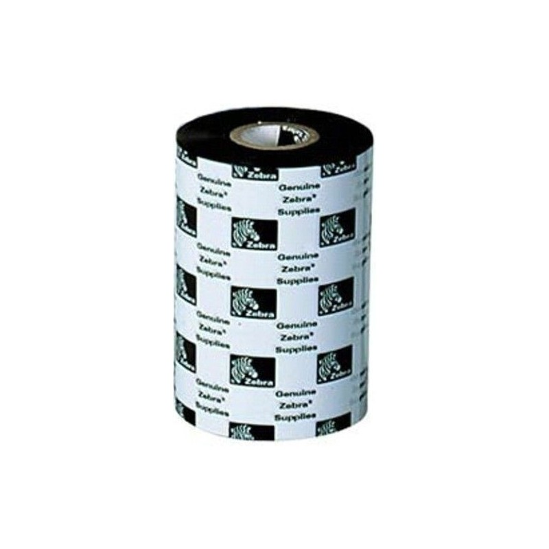 Zebra - 5095 Resin Ribbon 84mm x 74m cinta para impresora