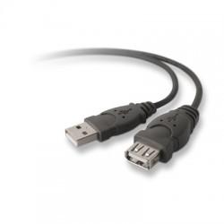 Belkin - USB A/A 3 m cable USB USB 20 Negro