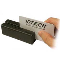 ID TECH - MiniMagII PS/2 Negro lector de tarjeta magntica