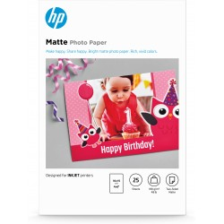 HP - 7HF70A papel fotogrfico Blanco Mate