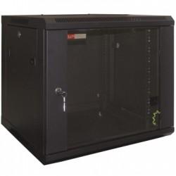 WP - WPN-RWB-12605-B estante Bastidor de pared 12U Negro