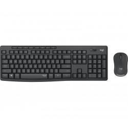 Logitech - MK295 Silent Wireless Combo teclado RF inalmbrico QWERTY Espaol Negro