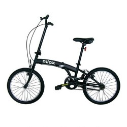 Nilox - X0 bicicletta Acero Negro