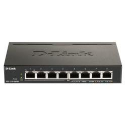 D-Link - DGS-1100-08PV2 switch Gestionado L2/L3 Gigabit Ethernet 10/100/1000 Energa sobre Ethernet PoE Negro