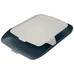 Leitz - 52590089 bandeja de escritorio/organizador Poliestireno PS Negro