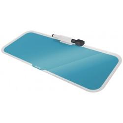 Leitz - 52690061 protector de escritorio Vidrio Azul