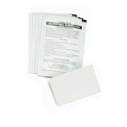 Zebra - 104531-001 limpiador de impresora Hoja de limpieza para impresora