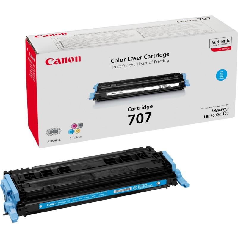 Canon - 707 Original Cian 1 piezas