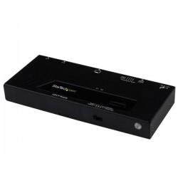 StarTechcom - Switch HDMI de 2 Puertos con Conmutado Automtico y Prioritario - 1080p
