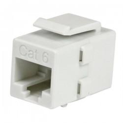 StarTechcom - Acoplador Keystone de Cable de Red Ethernet Cat6 RJ45 - Hembra a Hembra