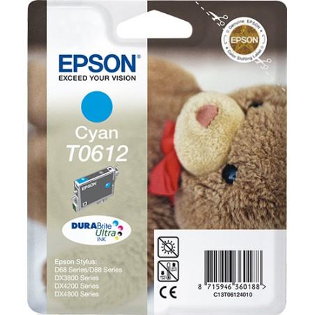Epson - Teddybear Cartucho T0612 cian