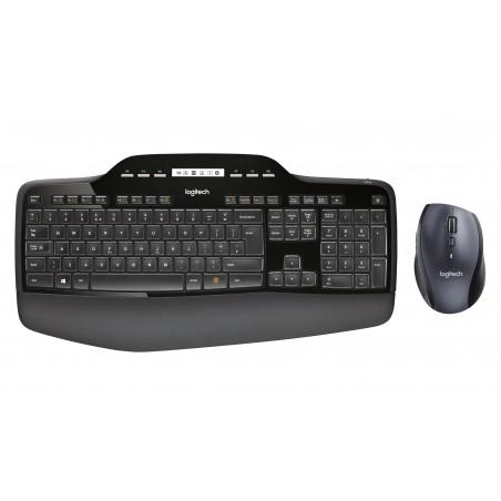 Logitech - MK710 teclado RF inalmbrico QWERTY Espaol Negro