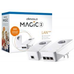 Devolo - Magic 2 LAN triple 2400 Mbit/s Ethernet Blanco 2 piezas
