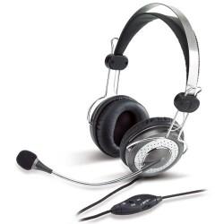 Genius - HS-04SU Auriculares Diadema Plata