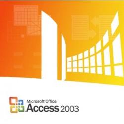 Microsoft - Access 2003 x32 GOV SA 1u OLP-NL - 077-03412