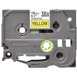 Brother - TZE641 cinta para impresora de etiquetas Negro sobre amarillo TZe