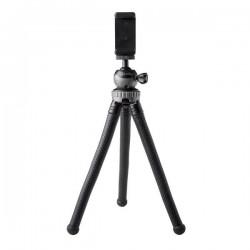 Celly - Click Flextri tripode Smartphone/Action camera 3 patas Negro